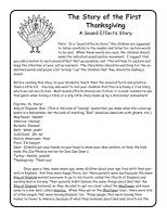 Thanksgiving Sound Effects Story This is a free download on my blog