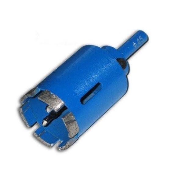 Gls 305 45mm 1 3 4 Diameter Heavy Duty Diamond Segments Core Drill Bit Hole Saw With Pilot Drill Bit Hole Saw Concrete Planter Molds Drill