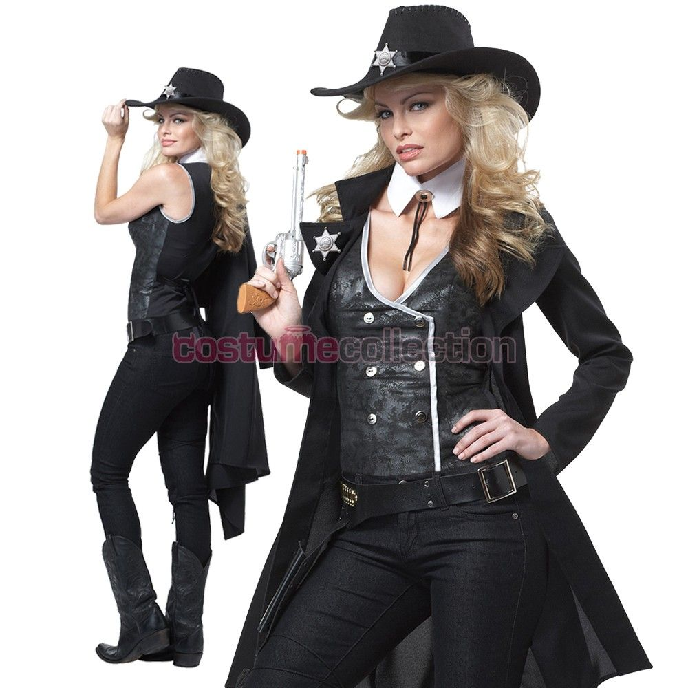 04ad8c5492e Sheriff Wild Western Cowgirl Costume