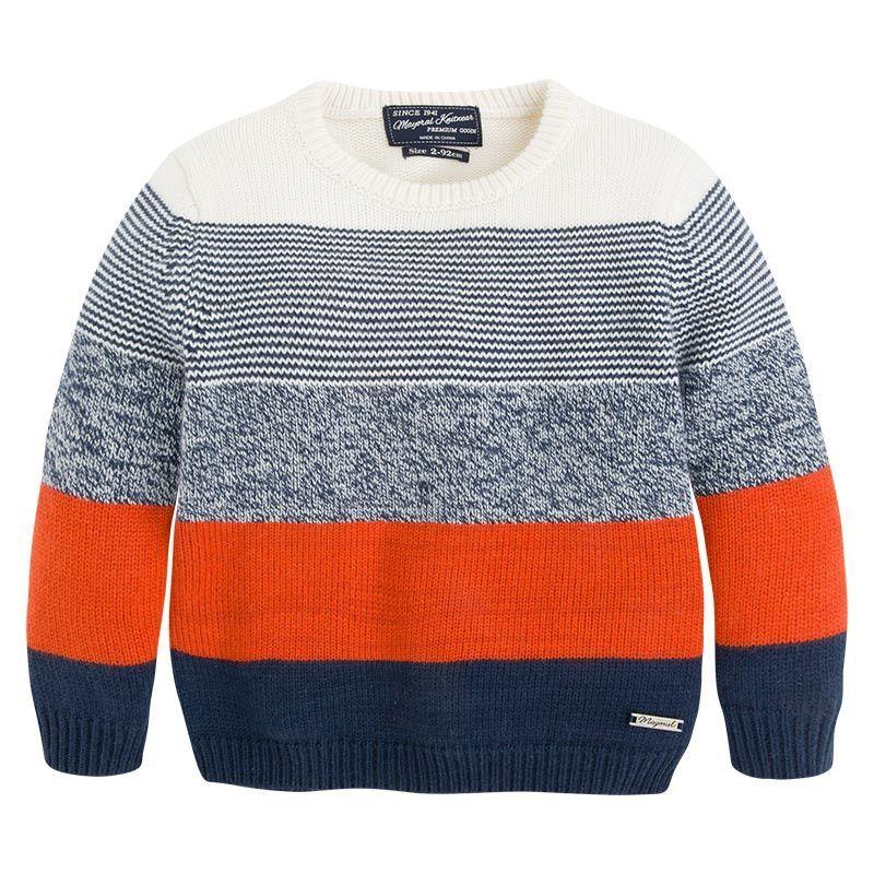 116929ef8 Mayoral Boy's Angora Striped Sweater Baby Boy Knitting, Knitting For Kids,  Knit Baby Sweaters