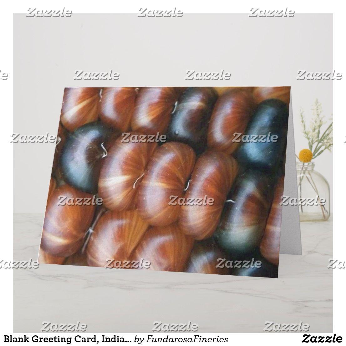 Blank Greeting Card Indian Corn Photo Card Custom Gifts Pinterest