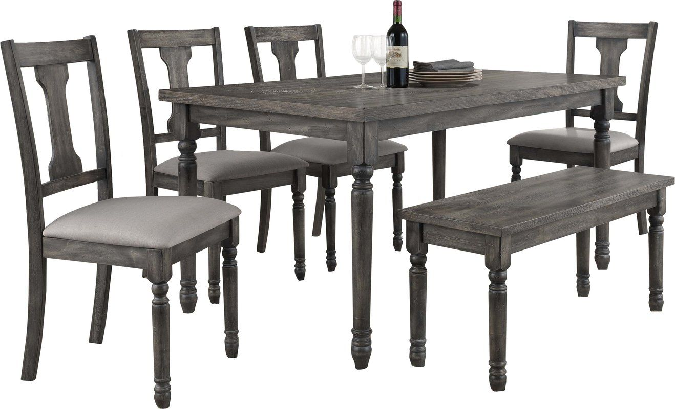 Durkee 6 Piece Dining Set Dining Kitchen Dining Sets Dining