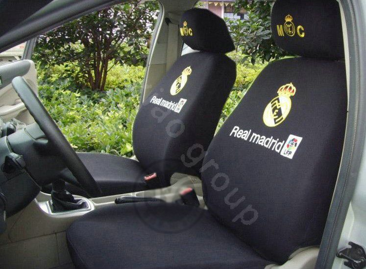 Sensational 119 99 Futbol Club Real Madrid Universal Auto Car Seat Beatyapartments Chair Design Images Beatyapartmentscom