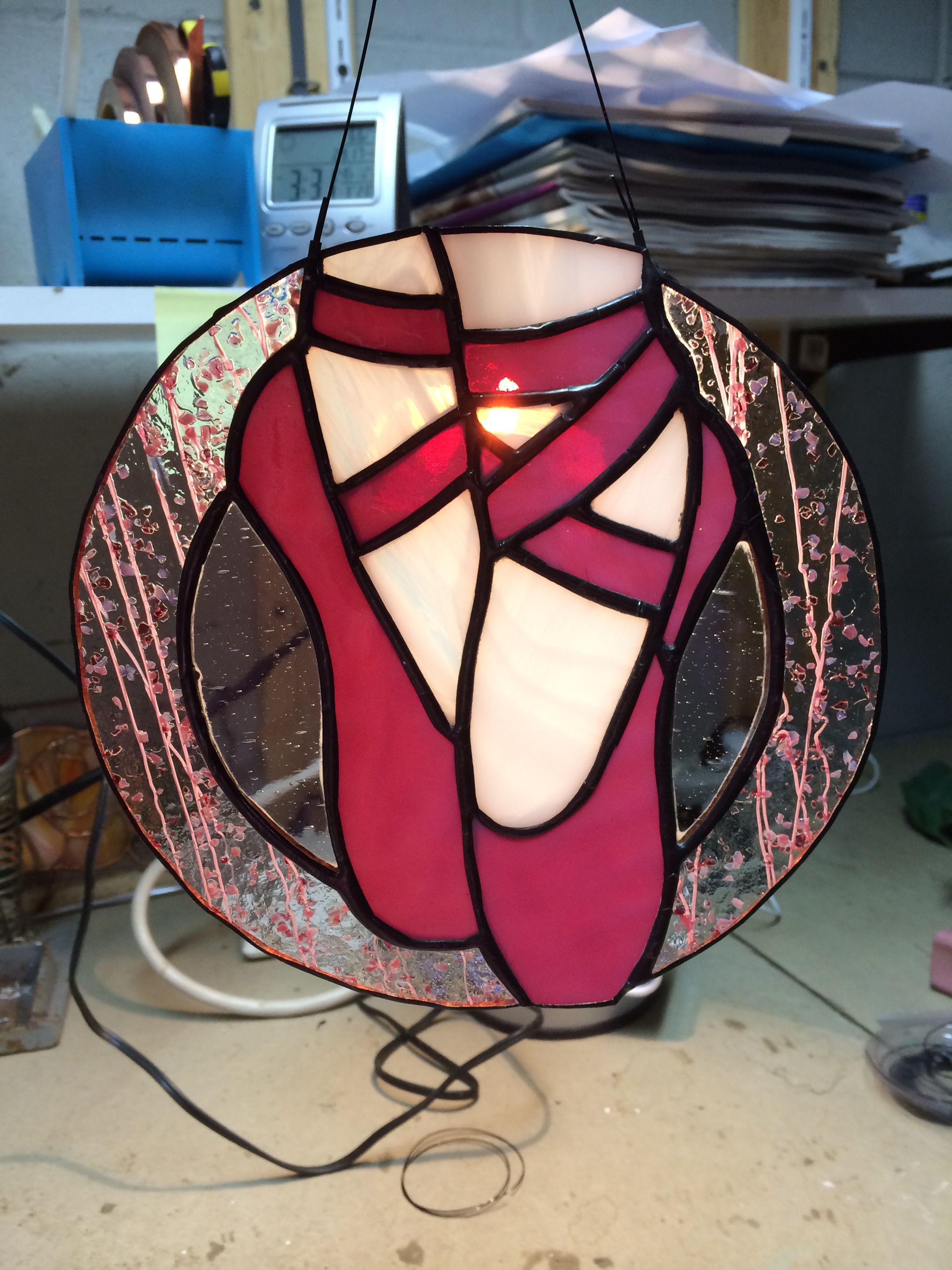 Ballet shoes | Stained Glass Patterns | Pinterest | Glas