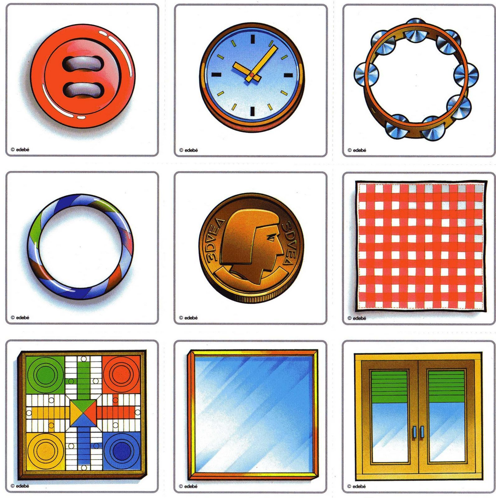 Autism Work Material Visual Perception Form Constancy
