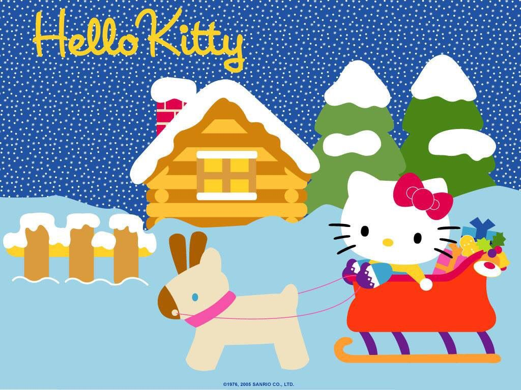 Have a Happy Christmas!!!!! #HelloKitty