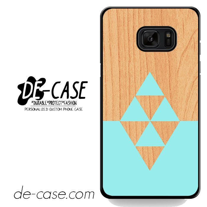 Lightwood Light Blue Triangles DEAL-6496 Samsung Phonecase Cover For Samsung Galaxy Note 7