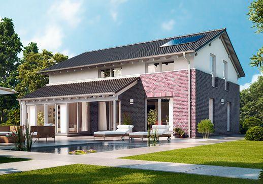 Haus Mit Veranda Bauen fertighaus guenstig bauen pappelallee mit wintergarten und