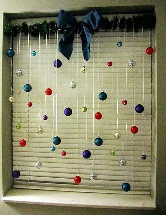 Decoración navideña de ventanas Navidad, Xmas and Ideas para