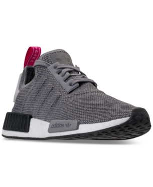 1cecf66ba adidas Women s Nmd R1 Casual Sneakers from Finish Line - Gray 9 ...