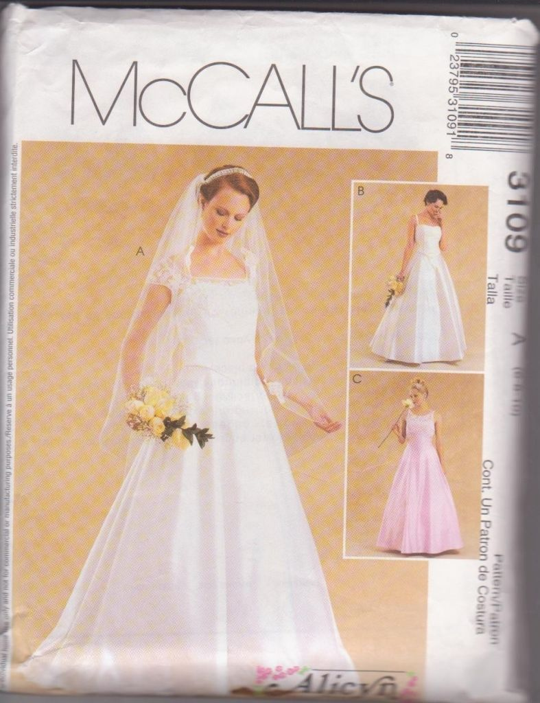 mccall wedding dress patterns - wedding dresses for plus size ...