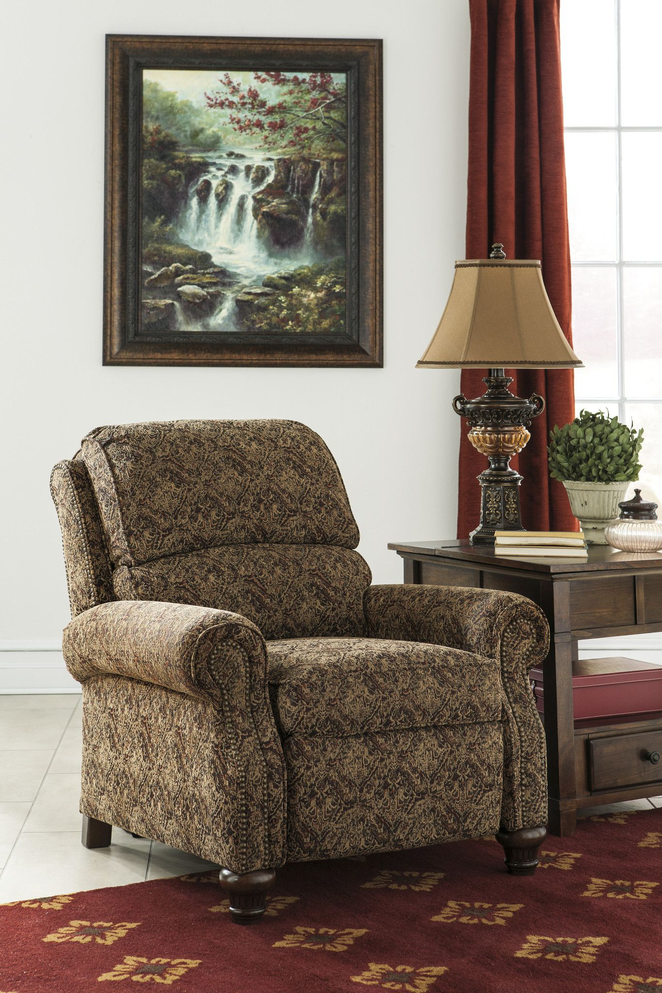 Walworth Accent Low Leg Recliner | Ashley furniture, Home ...