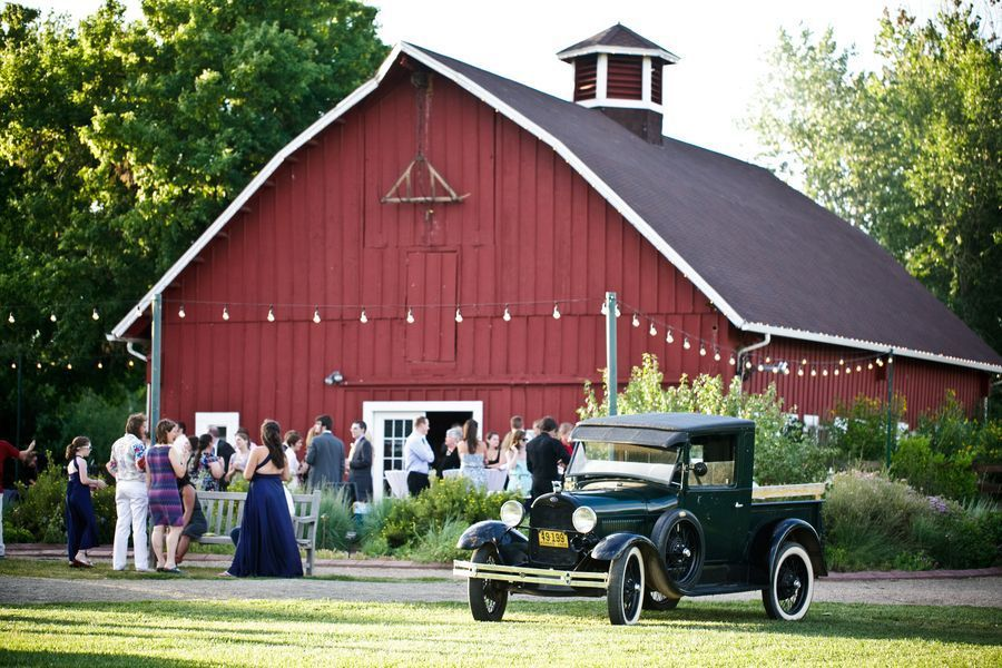 Barn Wedding In Colorado