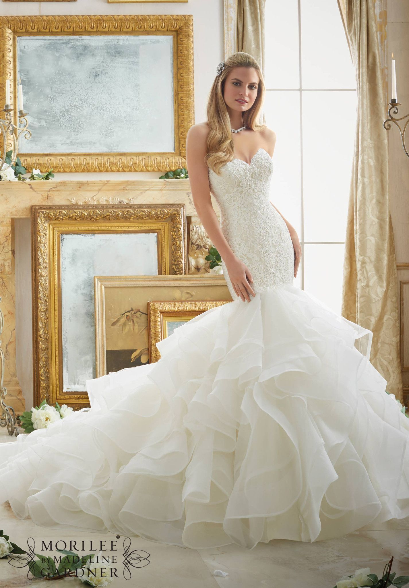 Mori lee all dressed up bridal gown great wedding gowns
