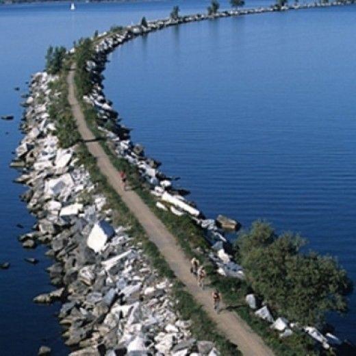burlington bike path causeway Google Search VT Pinterest
