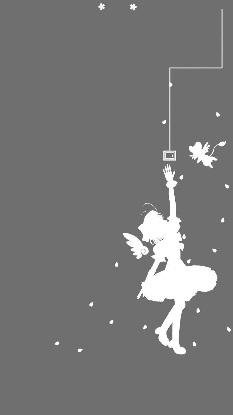 Anime Sakura Card Captor Personaje Sakura Kinomoto Kero Iphone6 壁紙 カードキャプターさくら イラスト イラスト