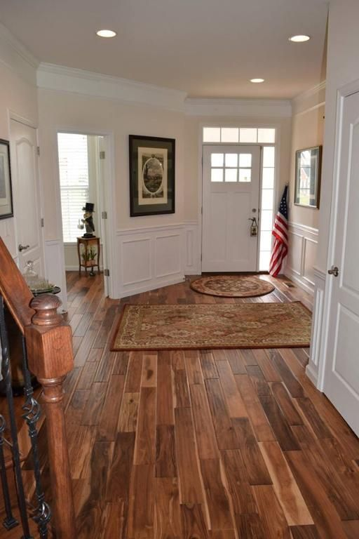 Virginia Mill Works 3 4 X 4 3 4 Tobacco Road Acacia Handscraped Hardwood Floors House Flooring Flooring