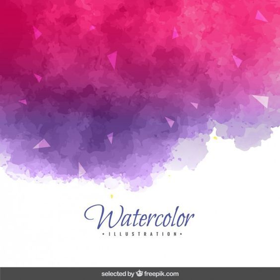 Pink Purple Watercolor Background Purple Watercolor Watercolor