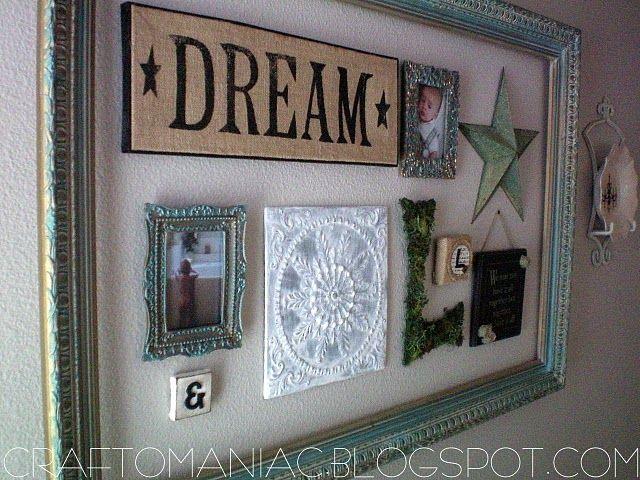 die besten 25 leere bilderrahmen ideen auf pinterest. Black Bedroom Furniture Sets. Home Design Ideas