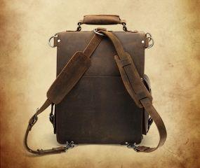 ledermann leather backpack briefcase satchel messenger bag