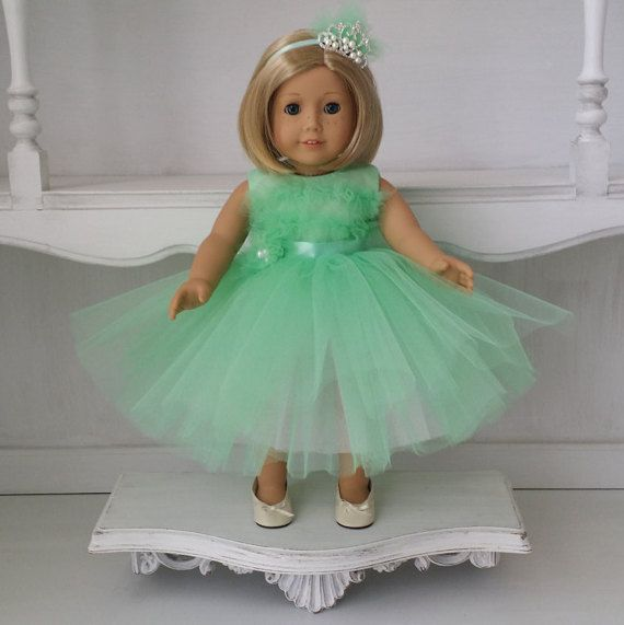 American Girl Doll Outfits Soft Mint Green by AmazingDreamGirl ...