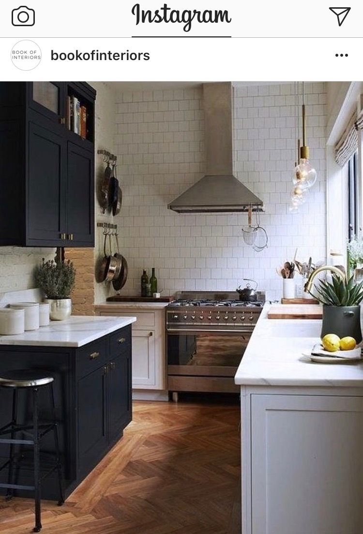 Small clean kitchen with interesting lines | 1135Cruft | Pinterest ...