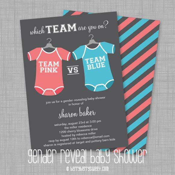 17 Best images about Gender Reveal Baby Shower Ideas on Pinterest ...