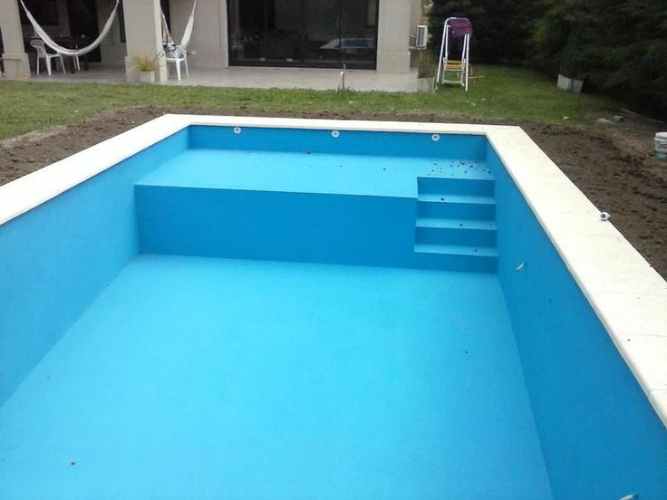 Escaliers Piscine en béton monobloc Marinal piscine Pinterest - Piscine A Construire Soi Meme