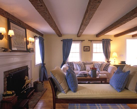 Low Ceiling  How To Give An Illusion Of Height  Paint Beams Gorgeous Wooden Ceiling Designs For Living Room Inspiration