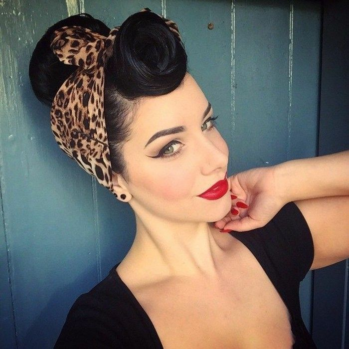 1001 Ideas For Rockabilly Hair Inspired From The 50 S In 2020 Rockabilly Frisur Rockabilly Haare 50er Jahre Frisur