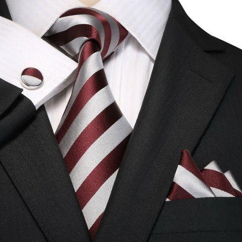 54a4b5f012d6 Burgundy and Gray Silk Necktie Set JPM18A95 – Toramon Necktie Company