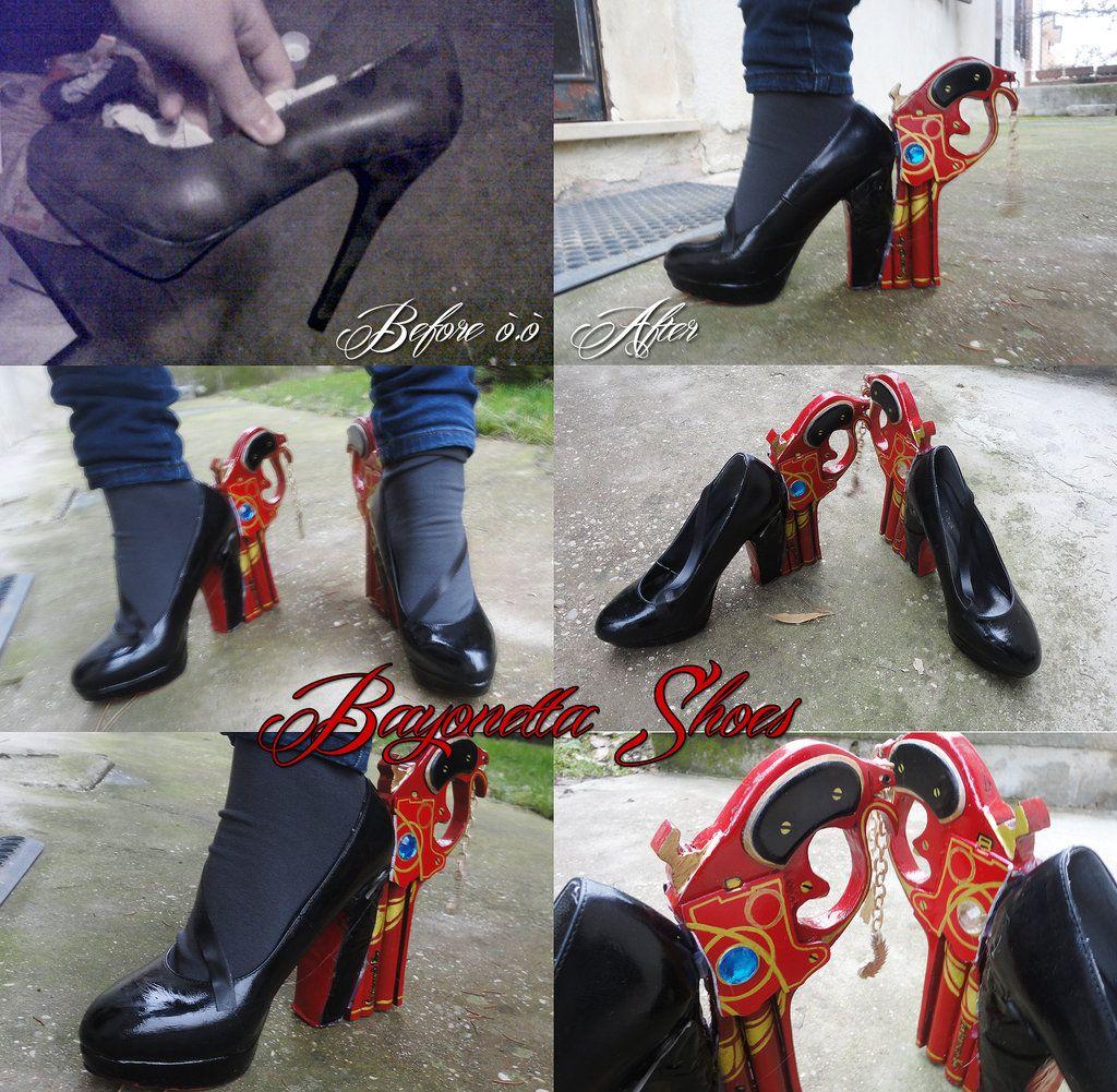 Bayonetta Bayonetta style Cosplay Shoes Boots