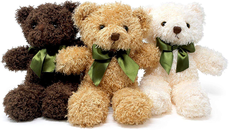 Fluffuns Teddy Bear Plush Cute Teddy Bears Stuffed Animals In 3 Colors Bear Stuffed Animal Teddy Bear Plush Teddy Bear Stuffed Animal [ 855 x 1500 Pixel ]