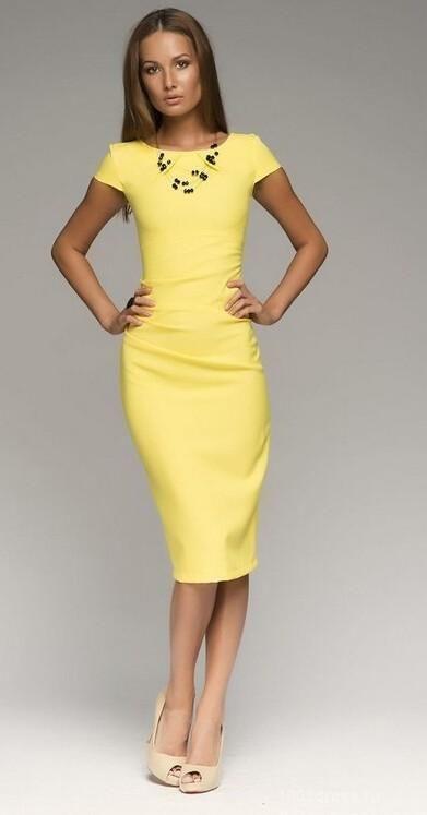 2015 summer women's dresses retro dress tight dress solid color ...