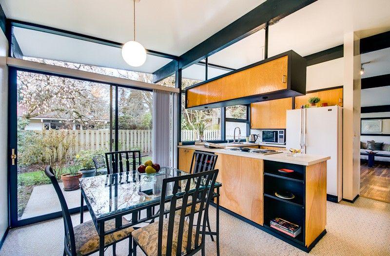 Bellevue Wa Mid Century Modern Kitchen Kitchen Design Kitchen Remodel