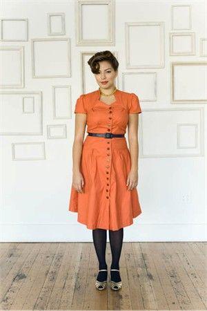 Love this Colette Ceylon dress pattern.