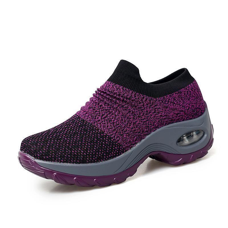 12da57413f Women's Breathable Air Cushion Leisure Shock Sneakers Shoes(Buy 3 ...
