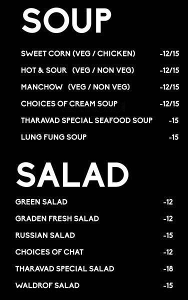 Tharavad Restaurant Dubai Menu Restaurant Seafood Soup Restaurant