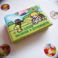 Surprise Eighties 1 Lucie Village Koeda Chan Jouet Mini Poupee Enfantin