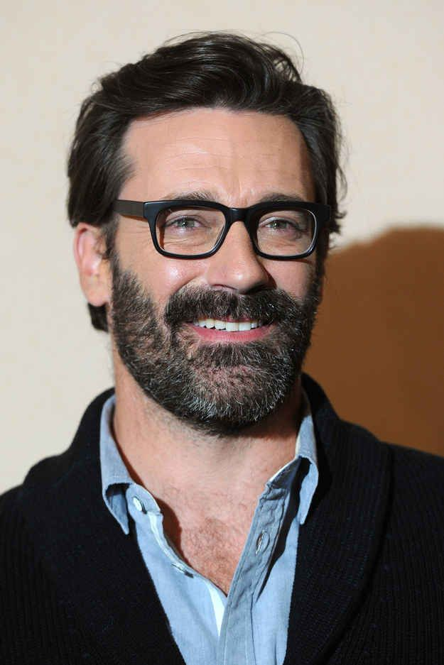 33 Celebrity Beards To Cozy Up To This Fall Jon Hamm Beard Mad Men