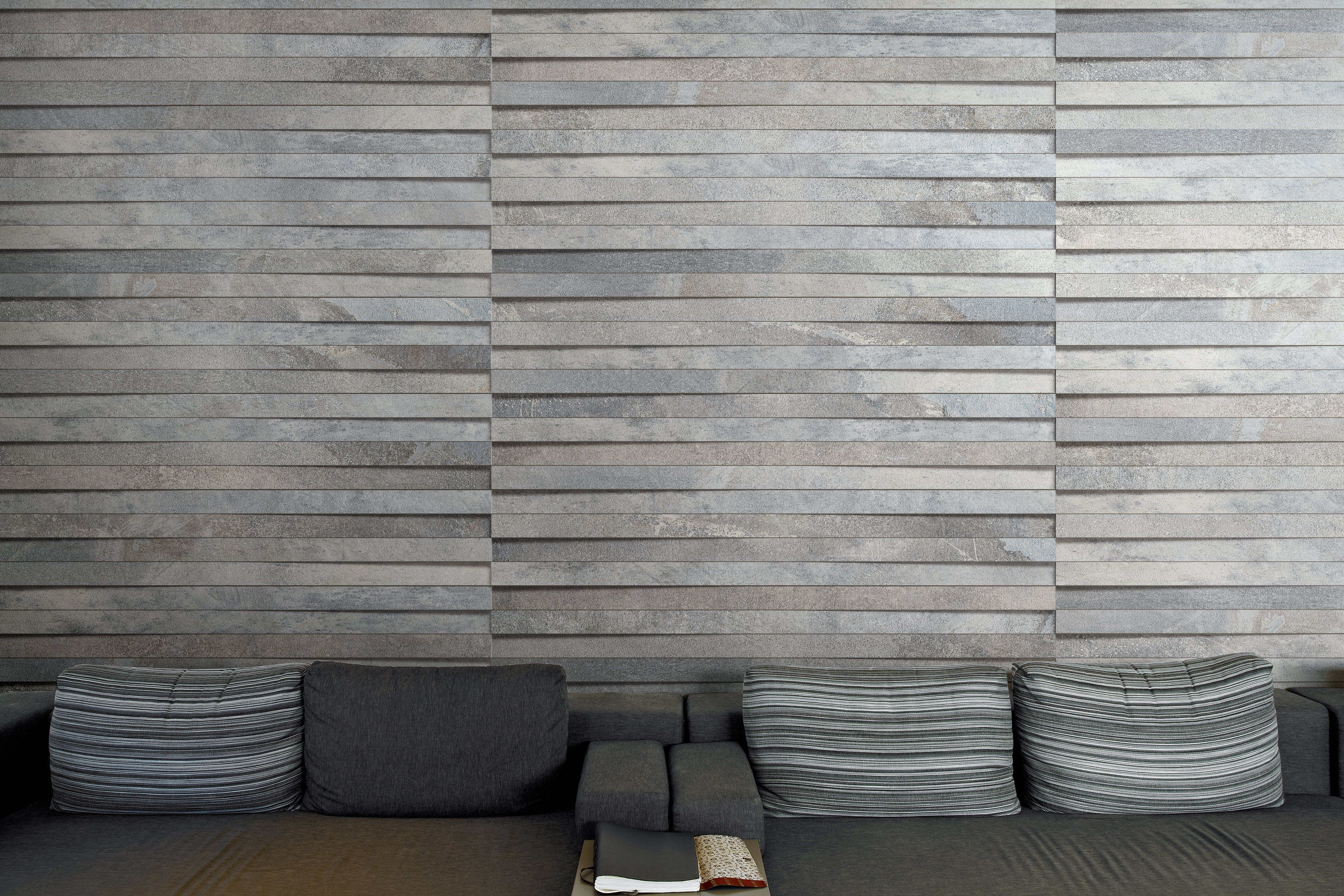 Wood and metal are the main inspiration for styletech by floor gres tiles made in italy dailygadgetfo Gallery