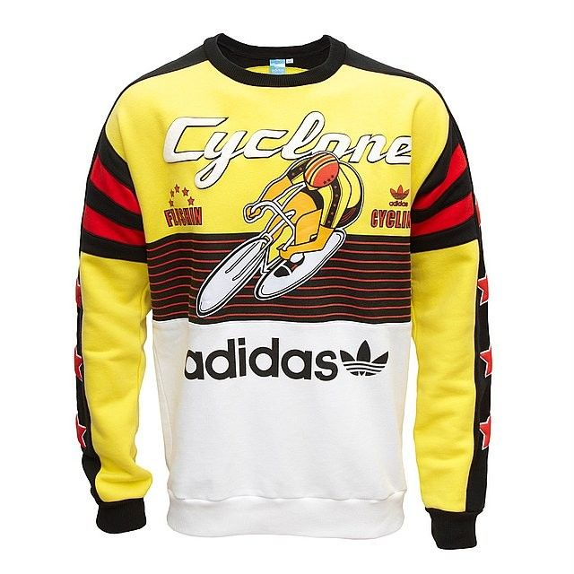 Details about Youth Boys Adidas Hoodie Vintage Retro Style Purple Yellow Grey Size Large L
