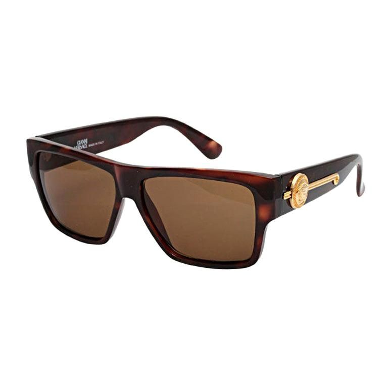 Gianni Versace Safety Pin Sunglasses Mod 427 Col 279 At: Gianni Versace Tortoise Mod 372/dm Sunglasses, Multiple