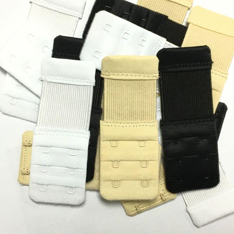 a9035e1f7bfb0 10 Pcs Adjustable 2 Hooks Bra Buckle Extender Bra Strap Extension Underwear