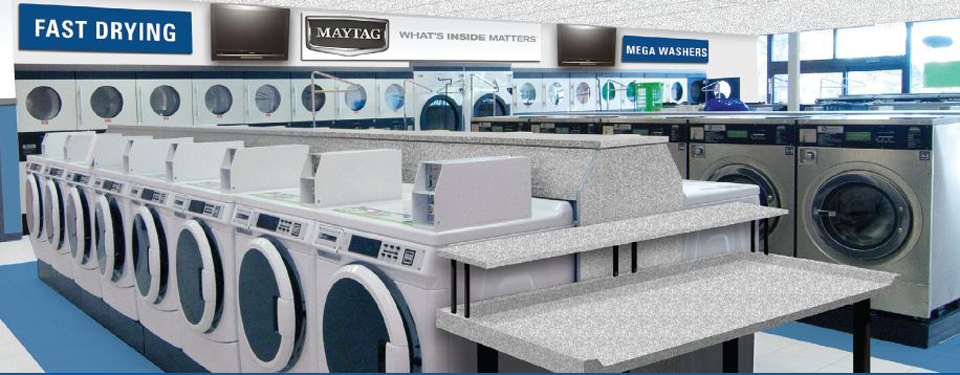 Laundromat Facilities Maximized For Greatest Customer Satisfaction