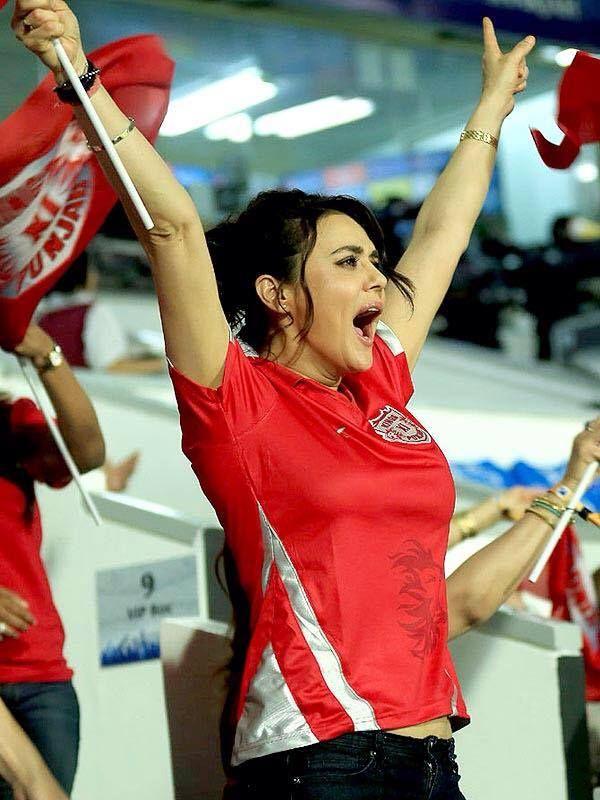 Preity Zinta Ipl  Hot,Hotter,Hottest  Preity Zinta -8096