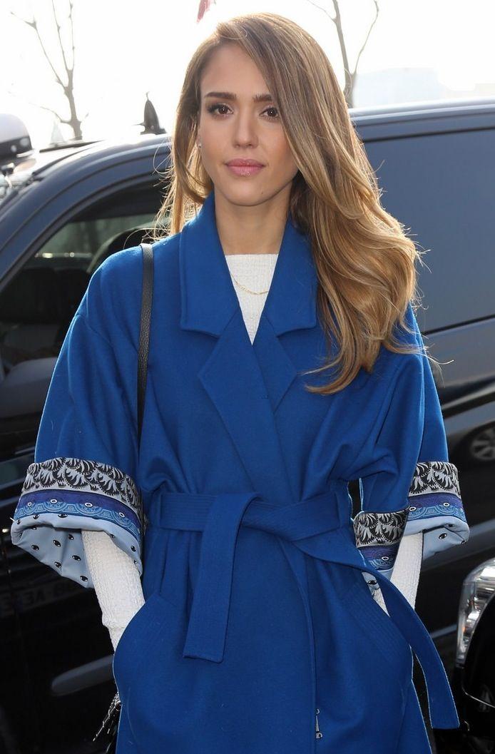 Jessica Alba Blonde Highlights Jessica Alba Hair Jessica Alba