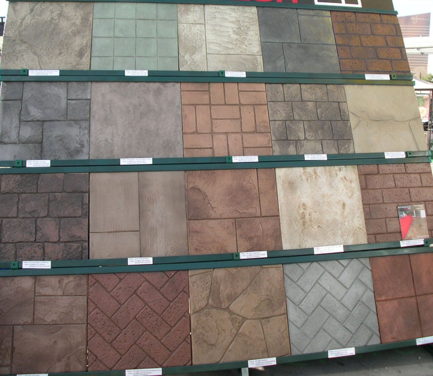 Stamped Concrete Colors 230