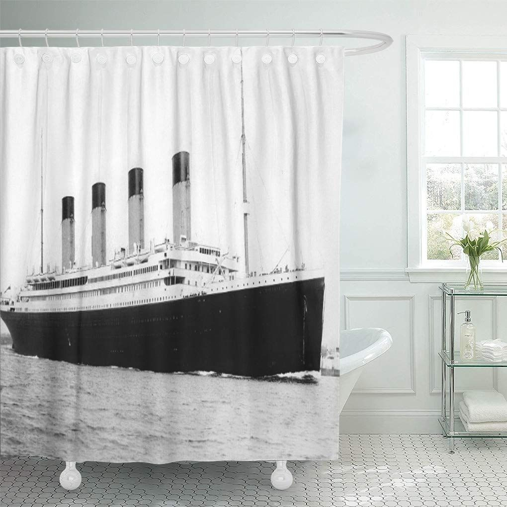 Photography Rms Titanic Famous Old Vintage Historic Ship Boat