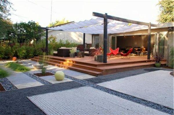 Pergola beschattung sonnenschutz im garten und im hinterhof